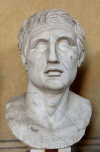 Menandro - busto