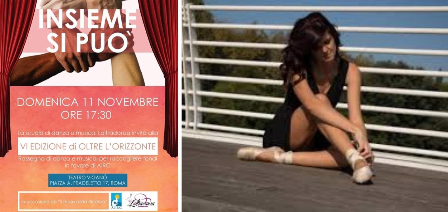 """VI^ edizione de """"Oltre l'orizzonte"""": l'arte, la danza e lo spettacolo per la vita contro il cancro, domenica 11 novembre nelle piazze italiane"""
