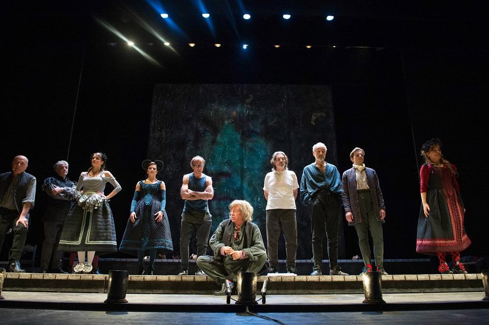 """""""Molière: la recita di Versailles"""" spettacolo di Paolo Rossi: Molière deve parlare, sino al 12 febbraio, Roma"""