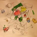 """""""My Diary"""", la nuova personale dell'artista Cosimo Carola, dal 27 febbraio 2014, Milano"""