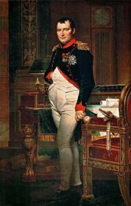 Napoleone nel suo gabinetto di lavoro - Painting by Jacques Louis David - 1812