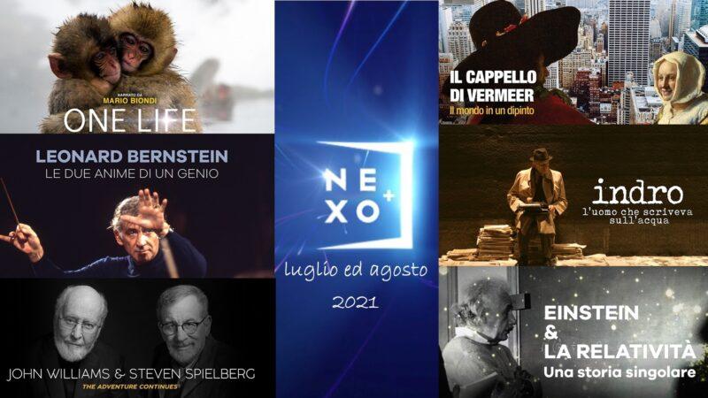 Nexo Plus: il calendario di tutti i film trasmessi in streaming a luglio ed agosto 2021