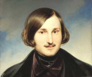 Nikolaj Gogol' ritratto - Paintin by Otto Friedrich Theodor Moeller (1840, Tretyakov Gallery)