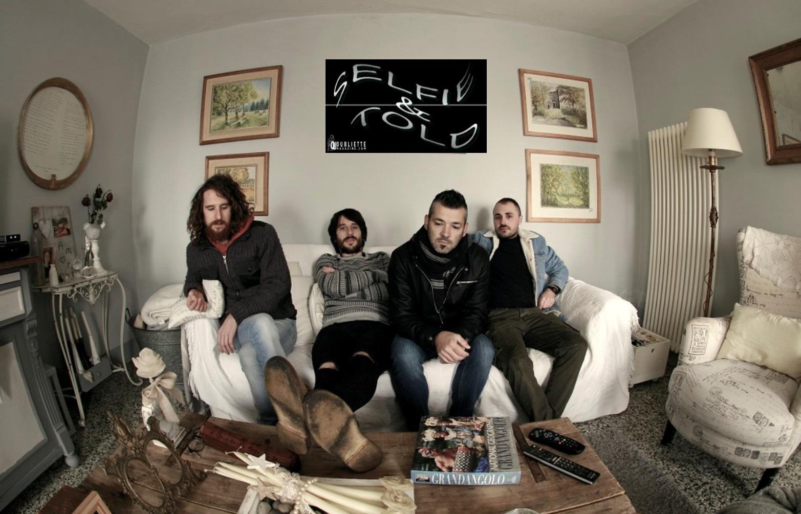 """Selfie & Told: la band Novalisi racconta il nuovo EP """"Quando mi chiedono dove sei"""""""
