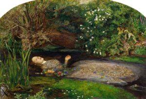 Ophelia - Painting by John Everett Millais