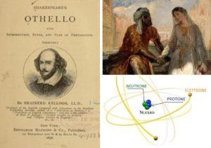 Otello di Shakespeare - Dettaglio del dipinto Otello e Desdemona a Venezia di Théodore Chassériau - Atomo