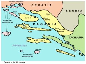 Pagania nel IX secolo secondo De administrando imperio
