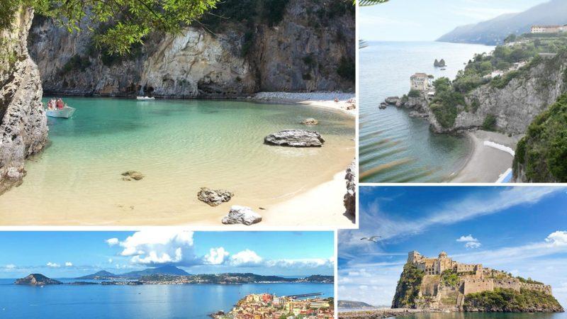 Carta di Navigare di Gerolamo Azurri #20: la costa della Campania, nel portolano della metà del 1500