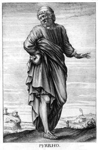 Pirrone - in Storia della Filosofia di Thomas Stanley (1655)