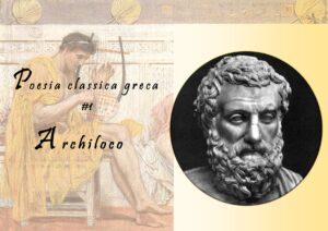 Poesia classica greca - Archiloco