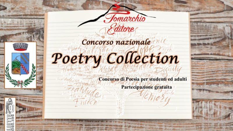 Poetry Collection: bando di partecipazione al primo concorso nazionale della casa editrice Tomarchio Editore
