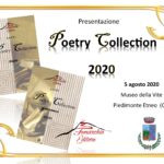 "Presentazione dell'antologia poetica ""Poetry Collection 2020"": il 5 agosto a Piedimonte Etneo"
