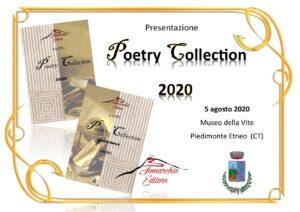 Poetry Collection Presentazione 5 agosto 2020