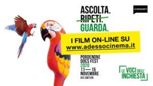 Pordenone Docs Fest – Le Voci dell'Inchiesta 2020