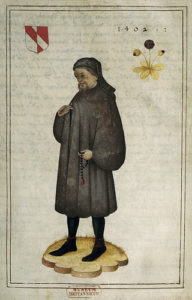 Portrait of Geoffrey Chaucer (16th century)