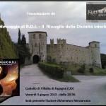 """Presentazione de """"Il messaggio R.D.I."""" di Akhenaton Reincarnato, venerdì 5 giugno, Fagagna (UD)"""