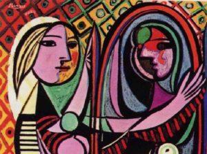 Ragazza davanti allo specchio _ Picasso