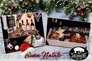 Regali aziendali Natale - Il Salumiere - Cesto Collarino - Cesto Belforte