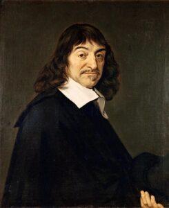 René Descartes in un ritratto di Frans Hals - 1649