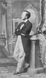Richard Wagner - Photo by Ludwig Angerer, 1863