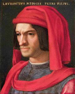 Ritratto di Lorenzo de' Medici - Painting by Agnolo Bronzino
