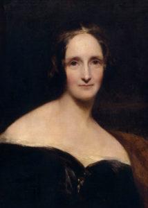Ritratto di Mary Shelley compiuto da Reginald Easton,