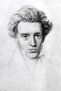 Ritratto di Søren Kierkegaard by Niels Christian Kierkegaard