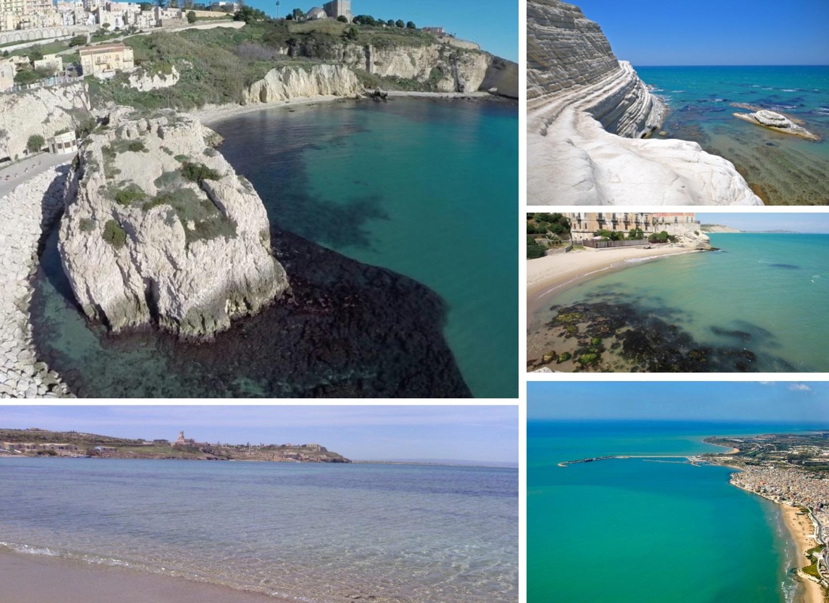 Carta di Navigare di Gerolamo Azurri #13: la costa meridionale della Sicilia, nel portolano della metà del 1500