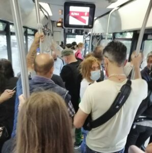 Roma - Bus Atac - Photo by Il Mattino