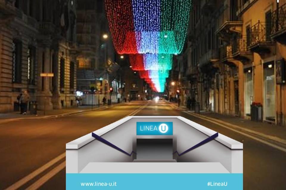 L'innovativo e misterioso progetto interattivo della nuova linea metropolitana di Roma: Linea U