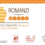 """""""Romanzi al sapore di miele"""": l'incontro tra Emma Fenu e Cristina Caboni, 31 agosto 2017, Silanus"""