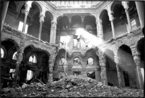 Rovine della Biblioteca di Sarajevo