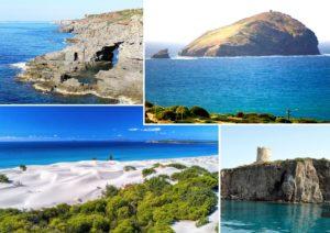 Sant'Antioco Is Praneddas - Isola della Vacca - Porto Pino - Sant'Antioco Torre Canai