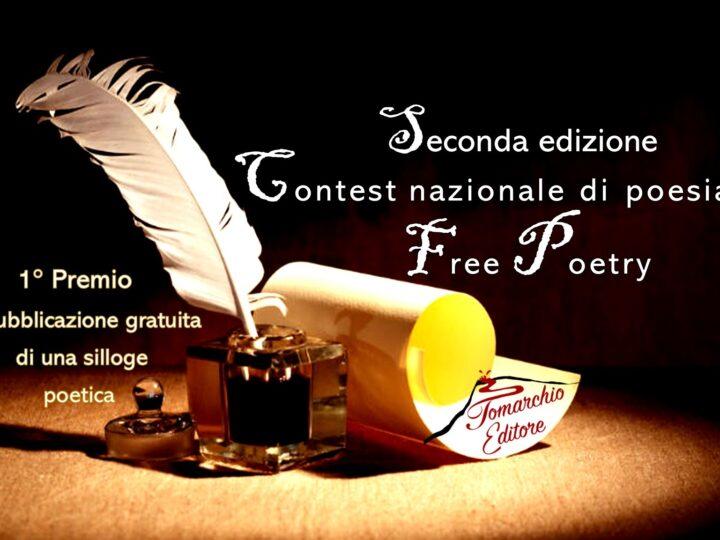 """Vincitrice e Finalisti della seconda edizione del Contest di poesia """"Free Poetry"""""""