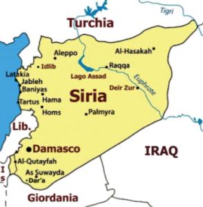 Siria - mappa