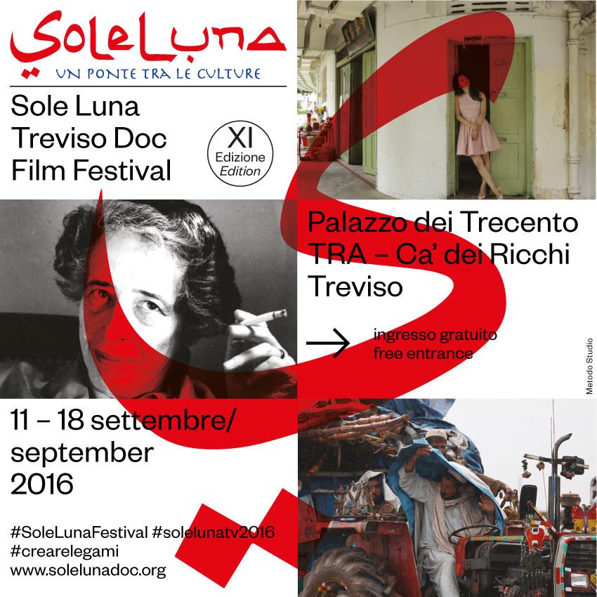 Festival Sole Luna 2016: l'undicesima edizione come un ponte cinematografico internazionale fra le culture a Treviso