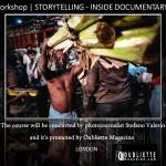 """Storytelling – Inside Documentary"": Photography workshop with photojournalist Stefano Valerio, London"