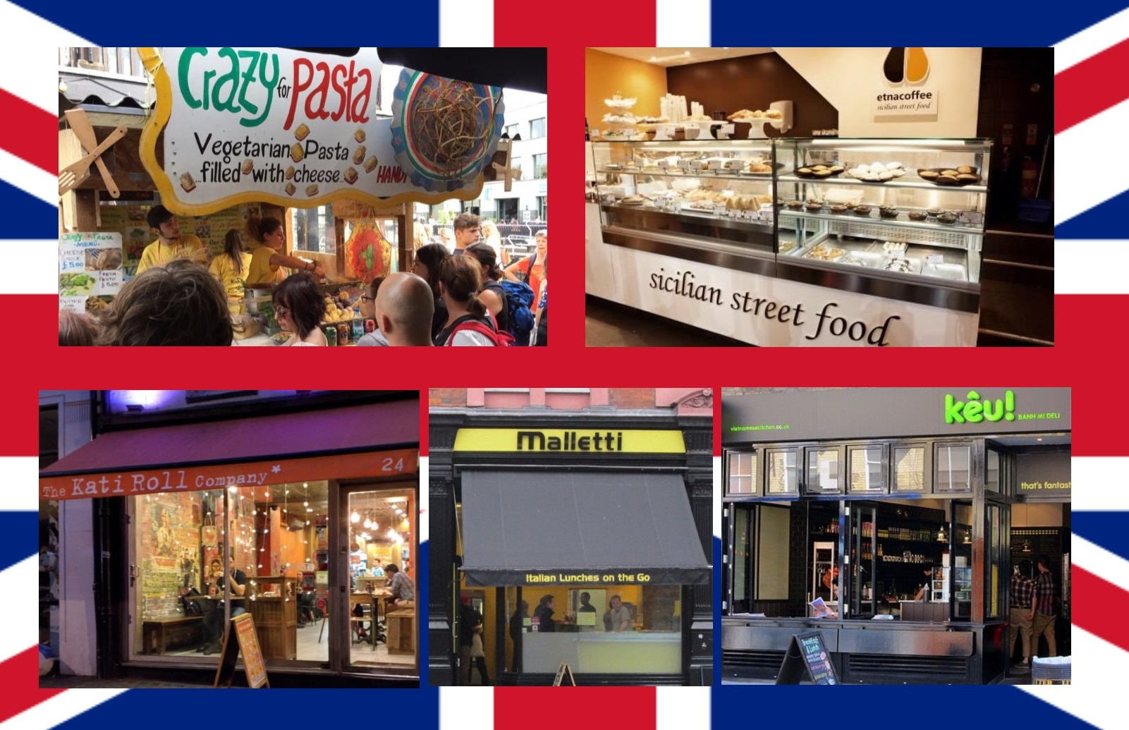 London Surprise: La top five dello street food a Londra