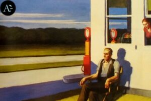 Superstrada a quattro corsie di Edward Hopper - 1956