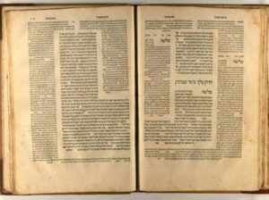 Talmud - Photo by Corriere