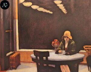 Tavola calda di Edward Hopper - 1927