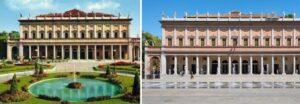 Teatro Municipale Romolo Valli (prima e dopo) - Reggio Emilia