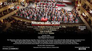 Teatro alla Scala - programma 2020