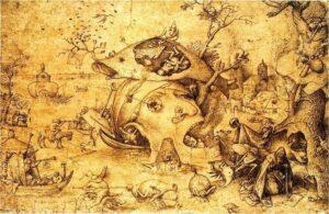 Tentazioni di Sant'Antonio - Pieter Bruegel