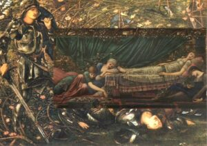 The Briar Rose - Painting by Edward Burne-Jones