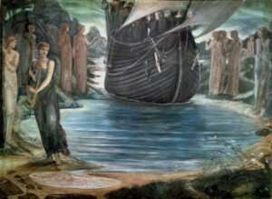 The Sirens - Painting by Edward Burne-Jones - 1875