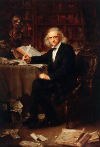Theodor Mommsen - Photo by LudwigKnaus - 1881