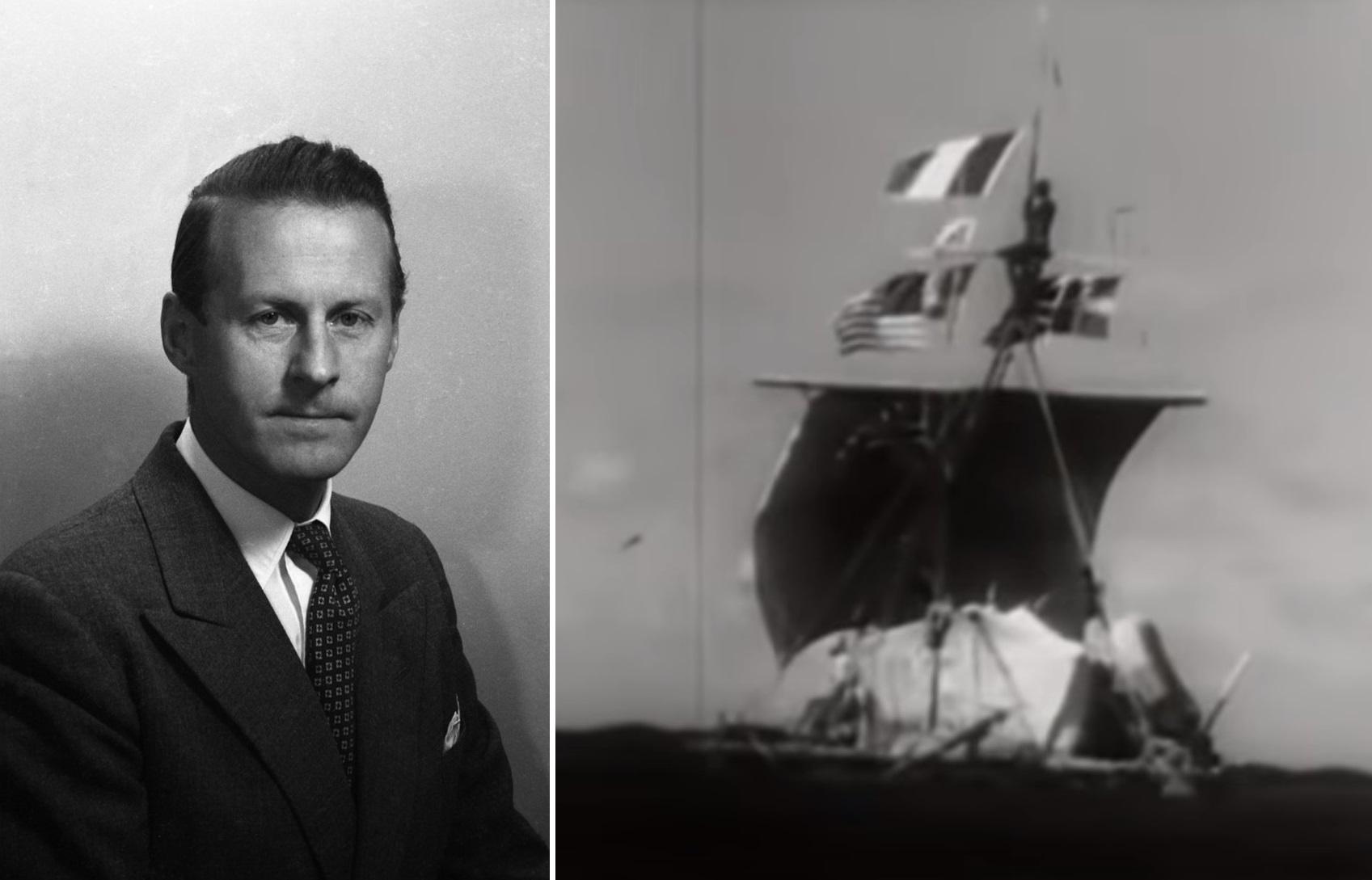 """""""Kon-Tiki"""" di Thor Heyerdahl: 4000 miglia a bordo di una zattera attraverso l'Oceano Pacifico"""