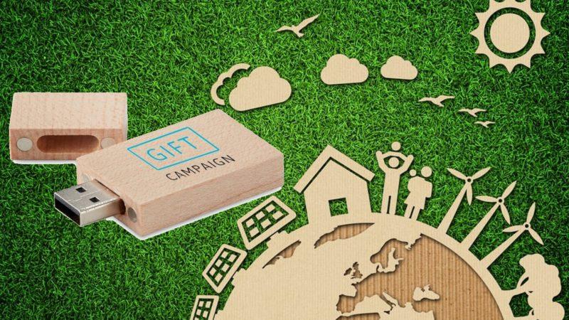 Tecnologia: quale chiavetta USB scegliere e come promuovere un'azienda con sostenibilità