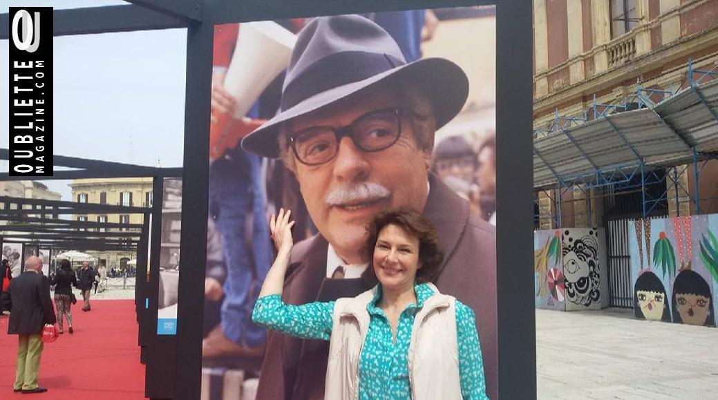 Intervista di Irene Gianeselli all'attrice Valeria Cavalli: il ricordo di Ettore Scola al Bari International Film Festival 2016